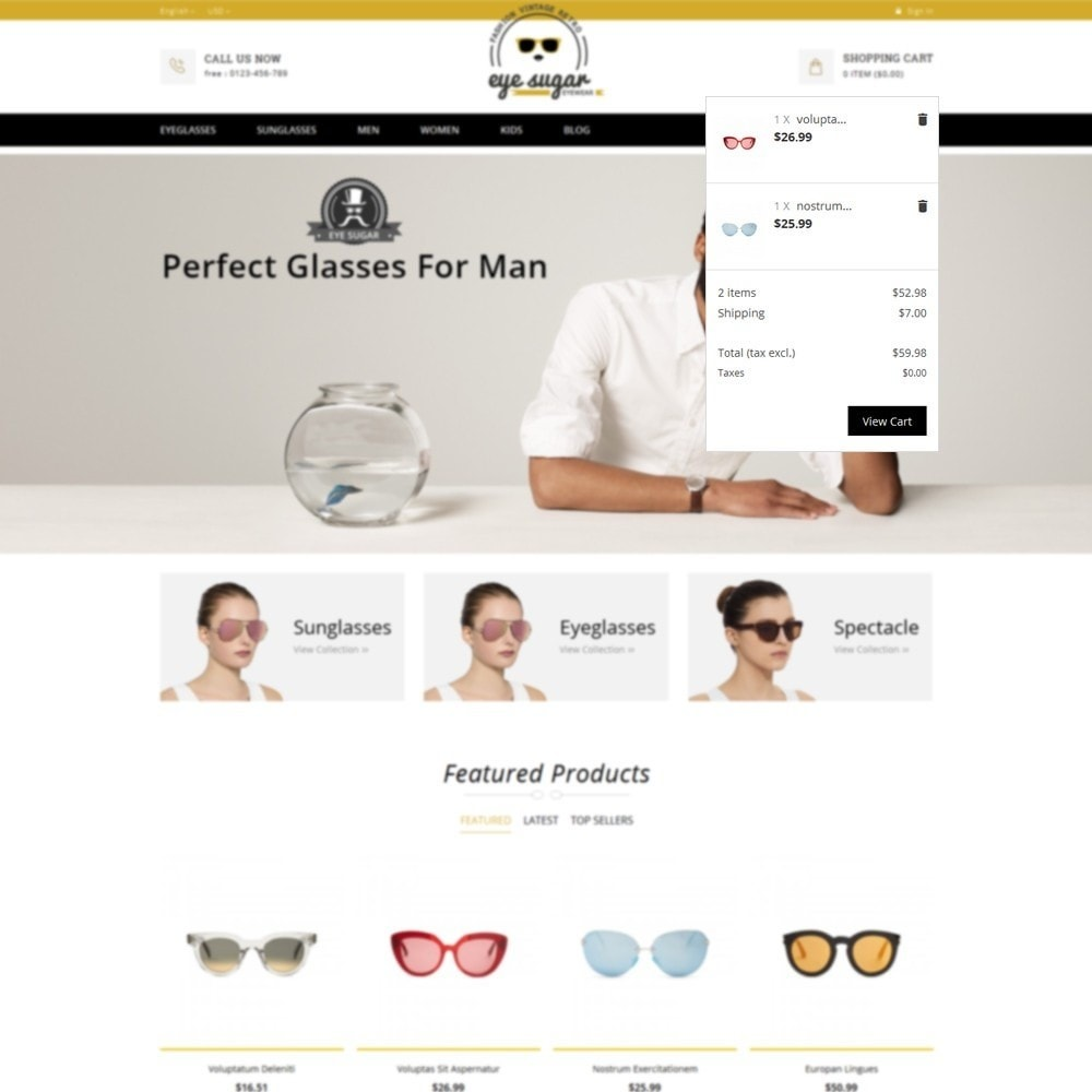 theme - Mode & Chaussures - EyeSugar Store - 8