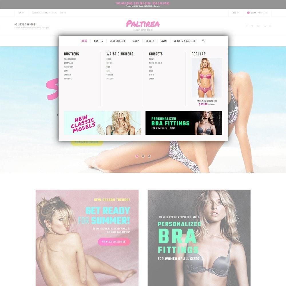 theme - Mode & Chaussures - Paltirea - magasin de lingerie thème - 5