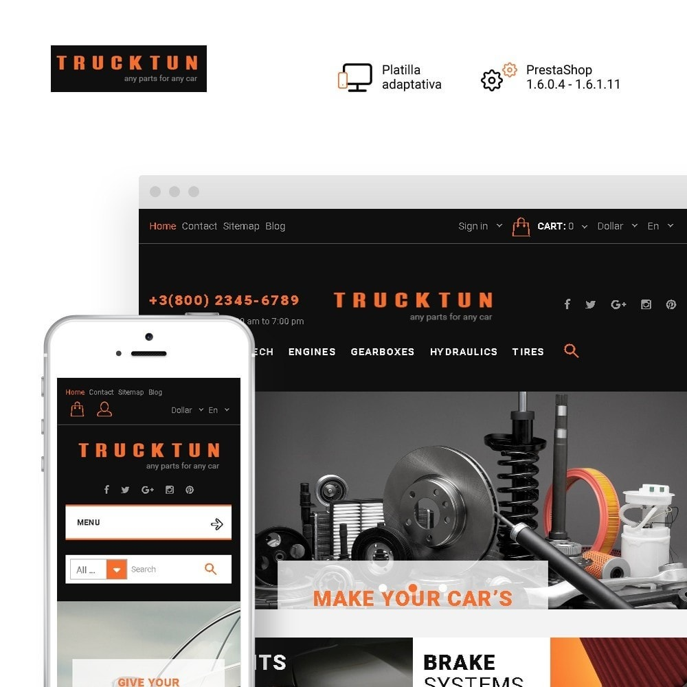 Trucktun - para Sitio de Repuestos de coches