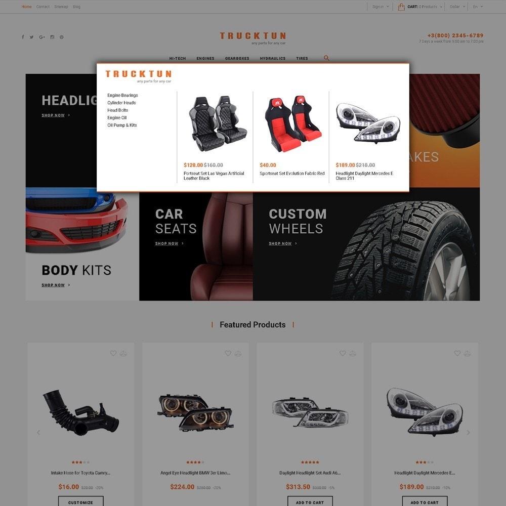theme - Auto & Moto - Trucktun - per Un Sito di Ricambi Auto - 5