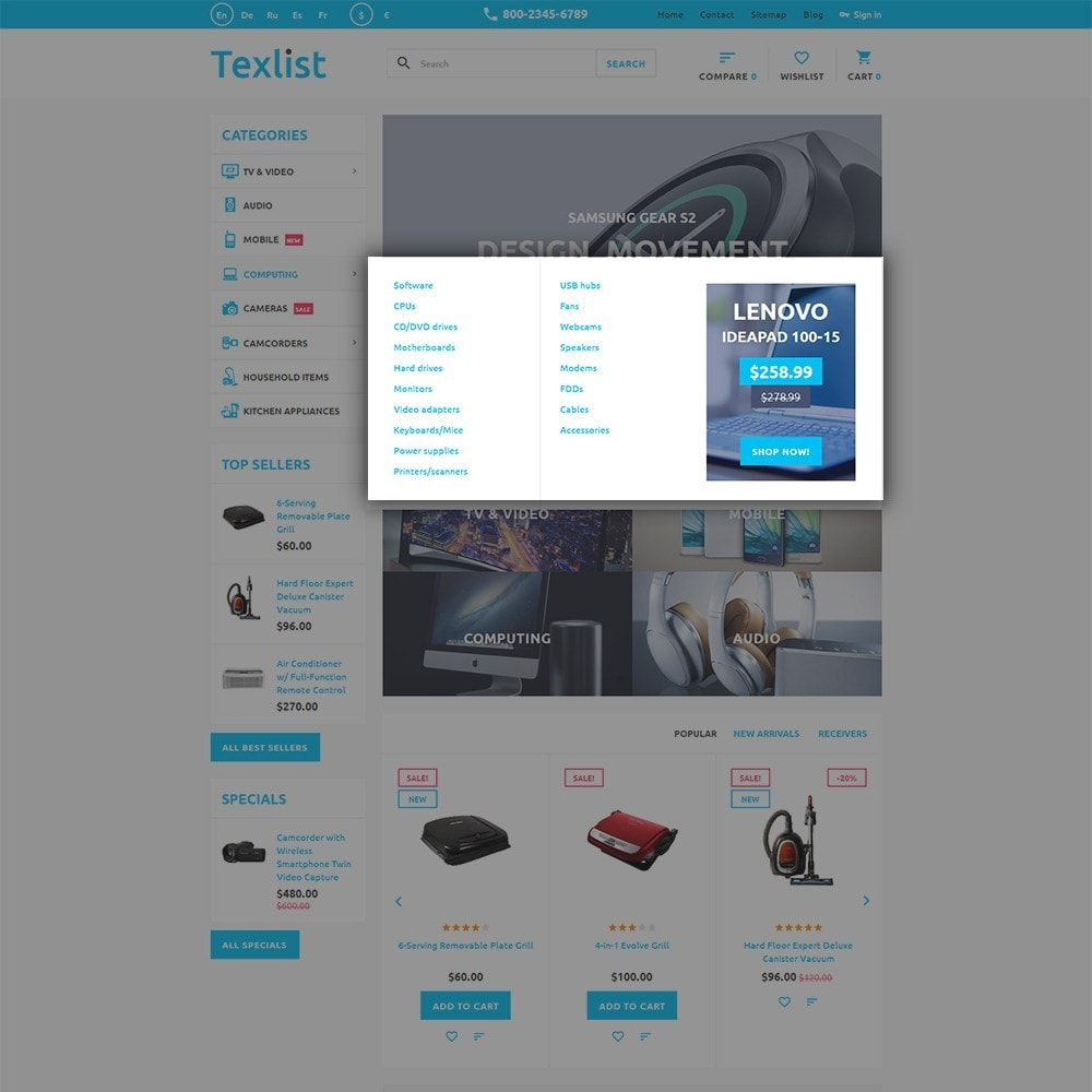 theme - Electronics & Computers - Texlist - 5