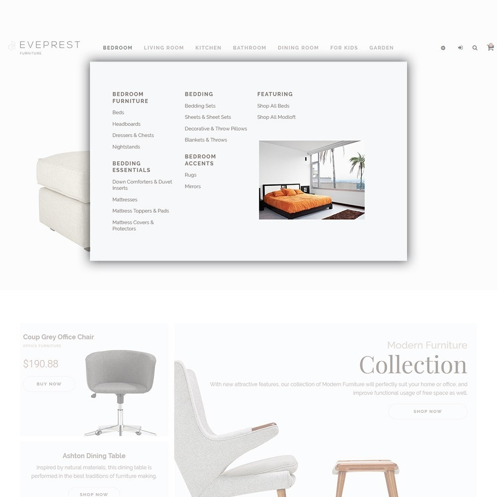 theme - Kultura & Sztuka - Eveprest - Furniture Store - 5
