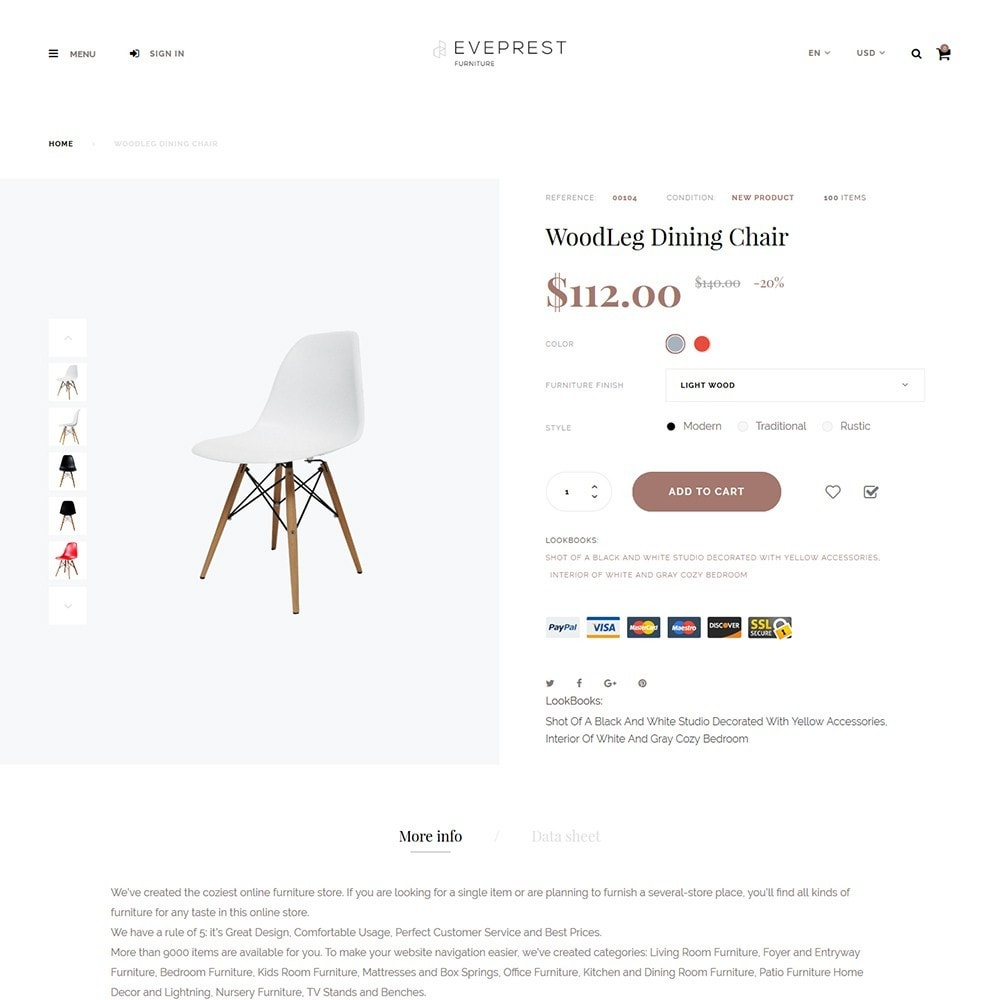 theme - Дом и сад - Eveprest - Furniture Store - 3