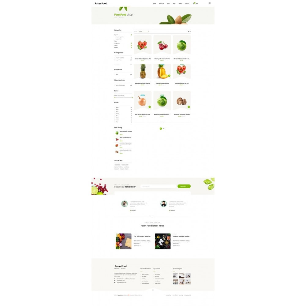 theme - Lebensmittel & Restaurants - JMS FarmFood - 8
