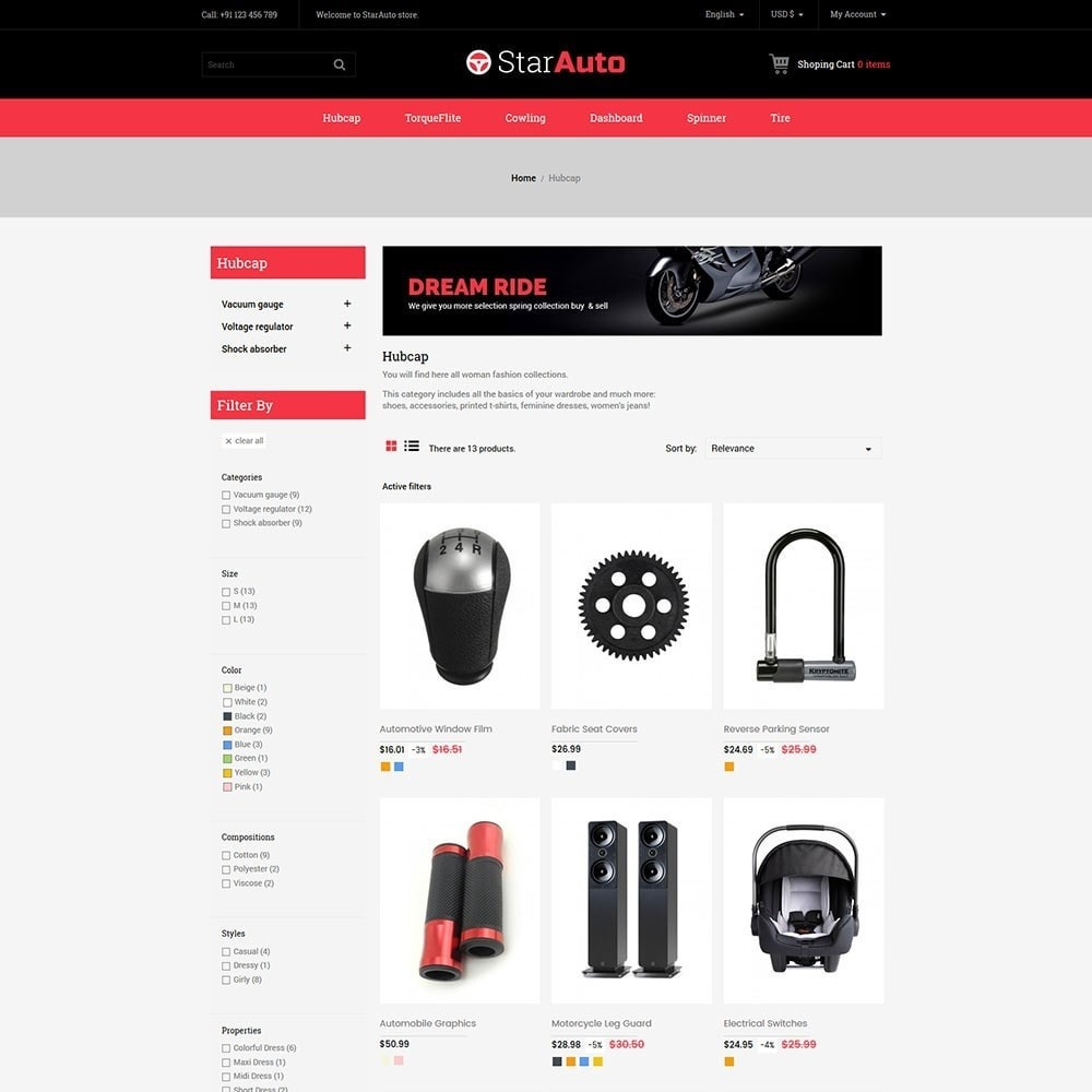 theme - Automotive & Cars - Starauto - Auto Store - 3