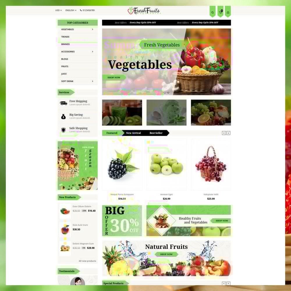 Fruits & Vegetables Shop