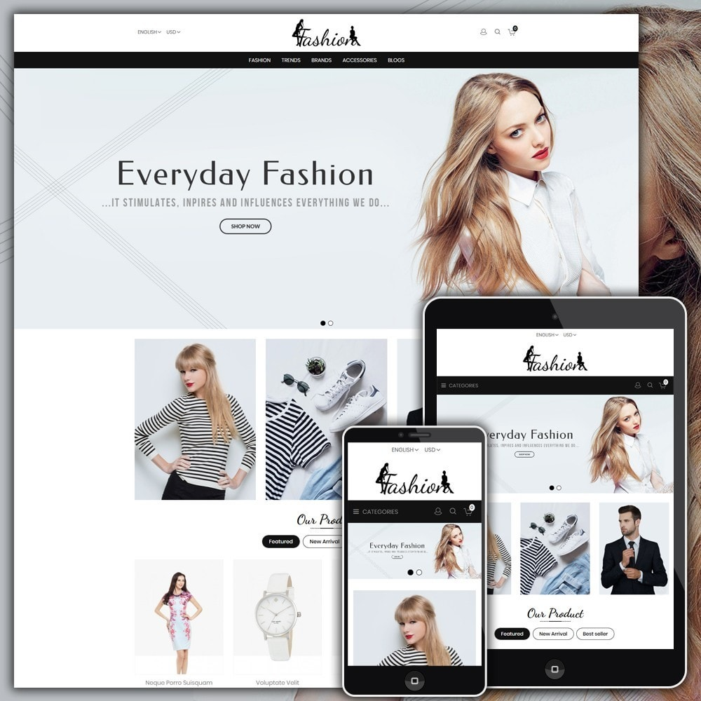 theme - Fashion & Shoes - Fashion Shop - 1