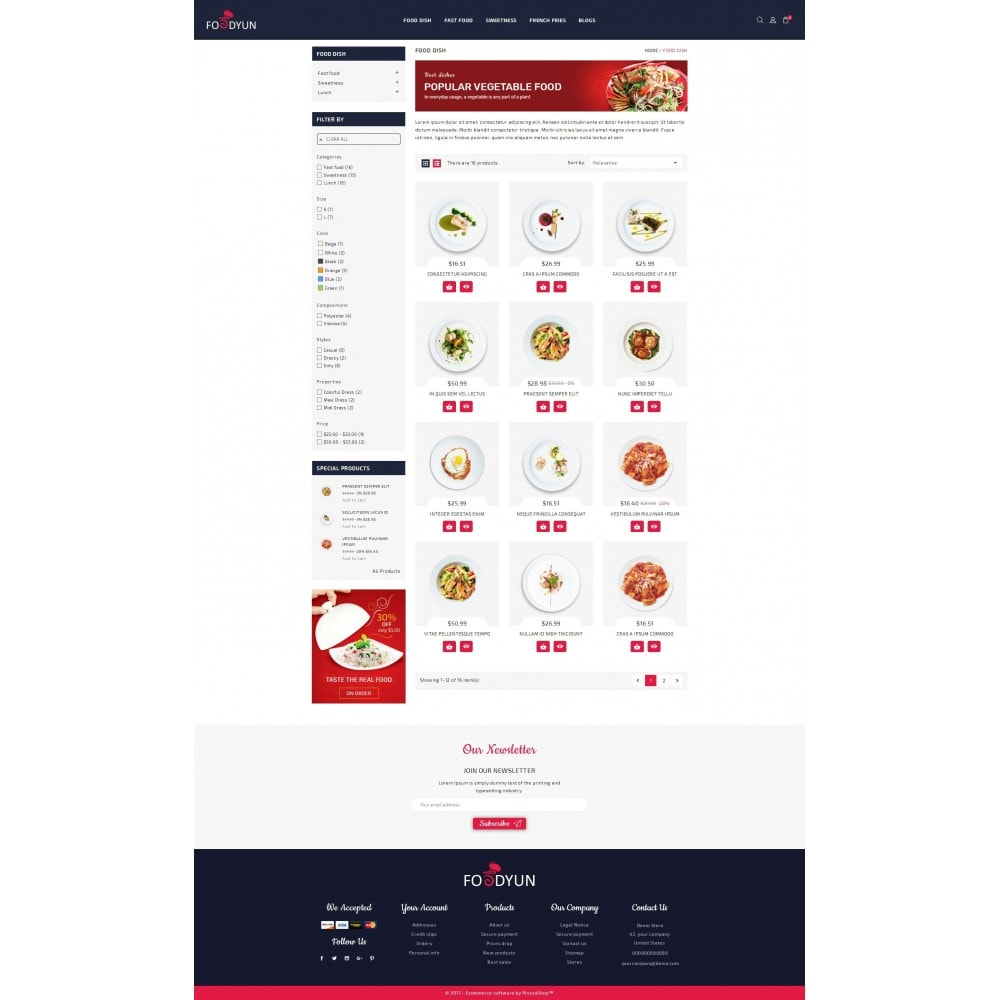 Foodyun - The Food Store