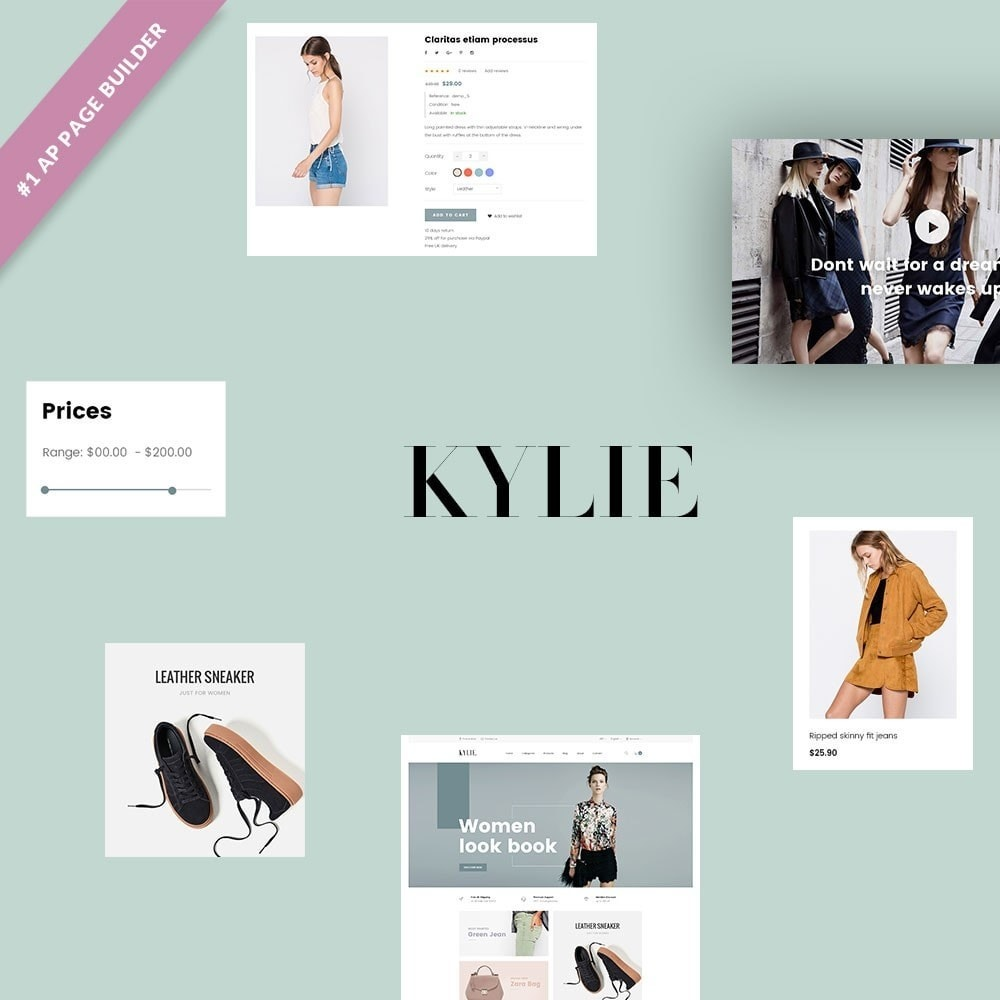 theme - Fashion & Shoes - Leo Kylie - 1