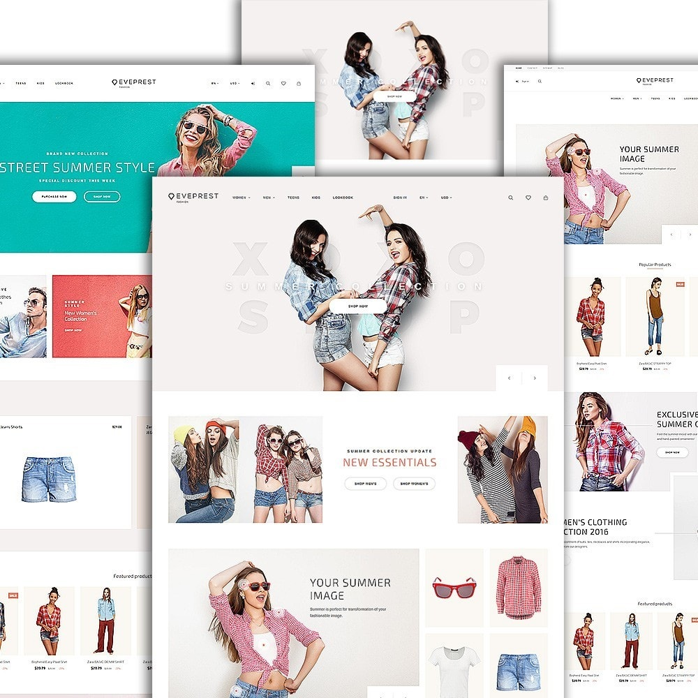 theme - Moda y Calzado - Eveprest - Fashion Boutique - 2