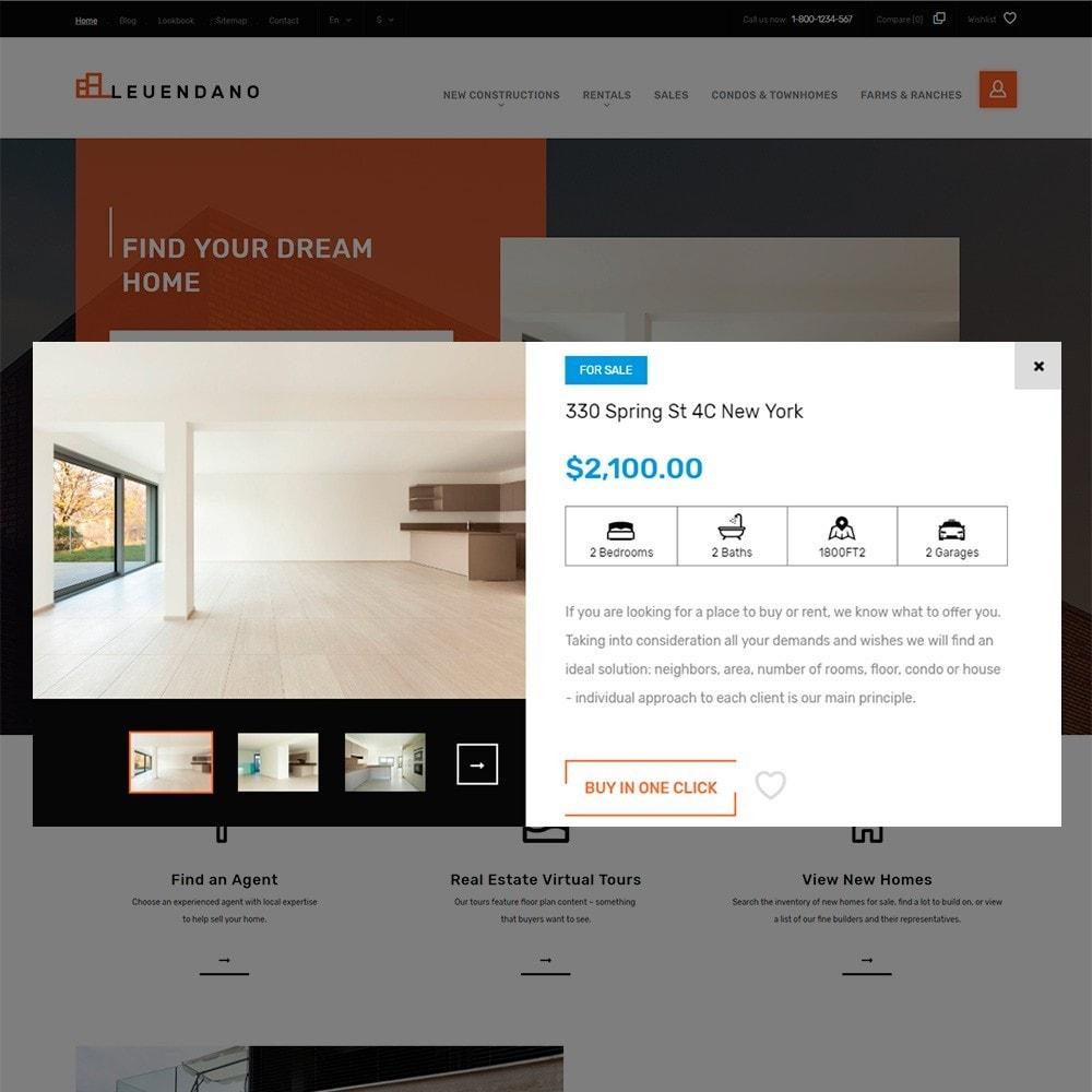 theme - Casa & Giardino - Leuendano  - per Un Sito di Agenzia Immobiliare - 4