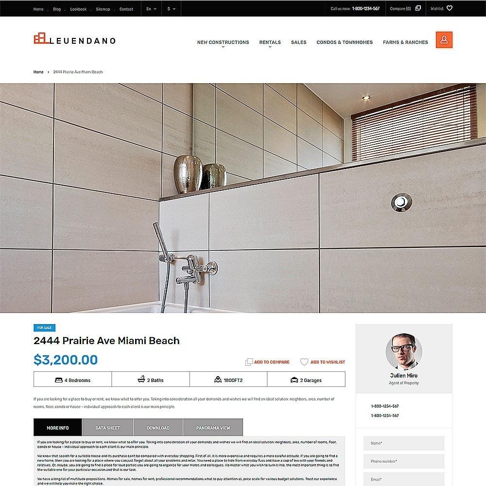 Leuendano - para Sitio de Agencias inmobiliarias