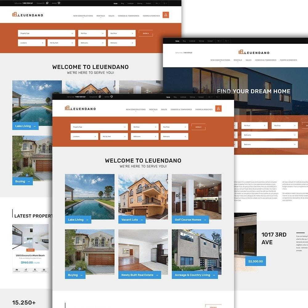 Leuendano  - шаблон на тему агентство недвижимости