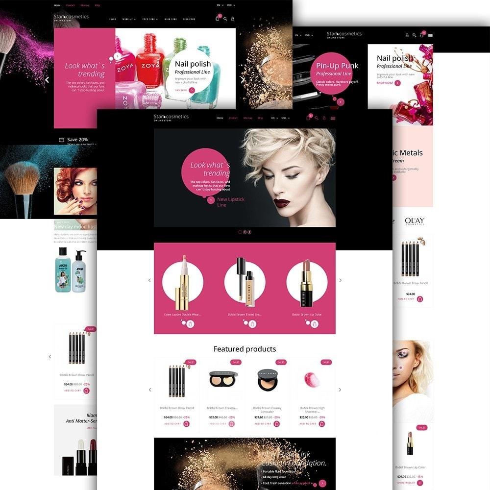 theme - Fashion & Shoes - Star Cosmetics - Beauty Items - 2