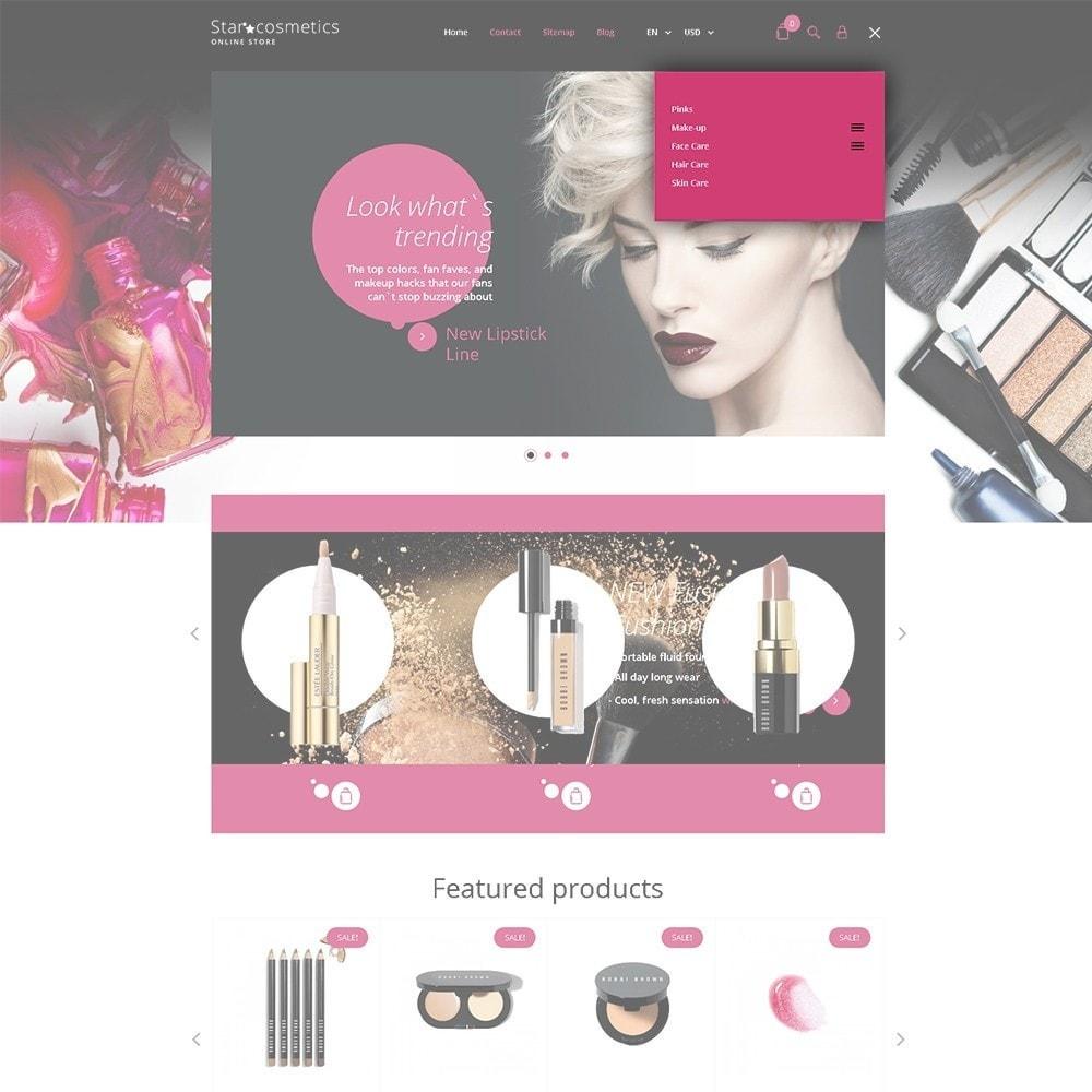 Star Cosmetics - шаблон магазина косметики