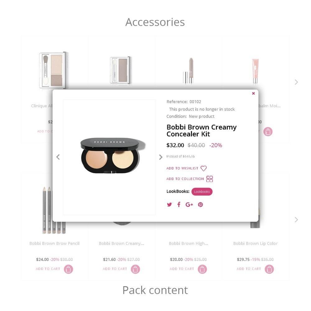 theme - Мода и обувь - Star Cosmetics - шаблон магазина косметики - 4