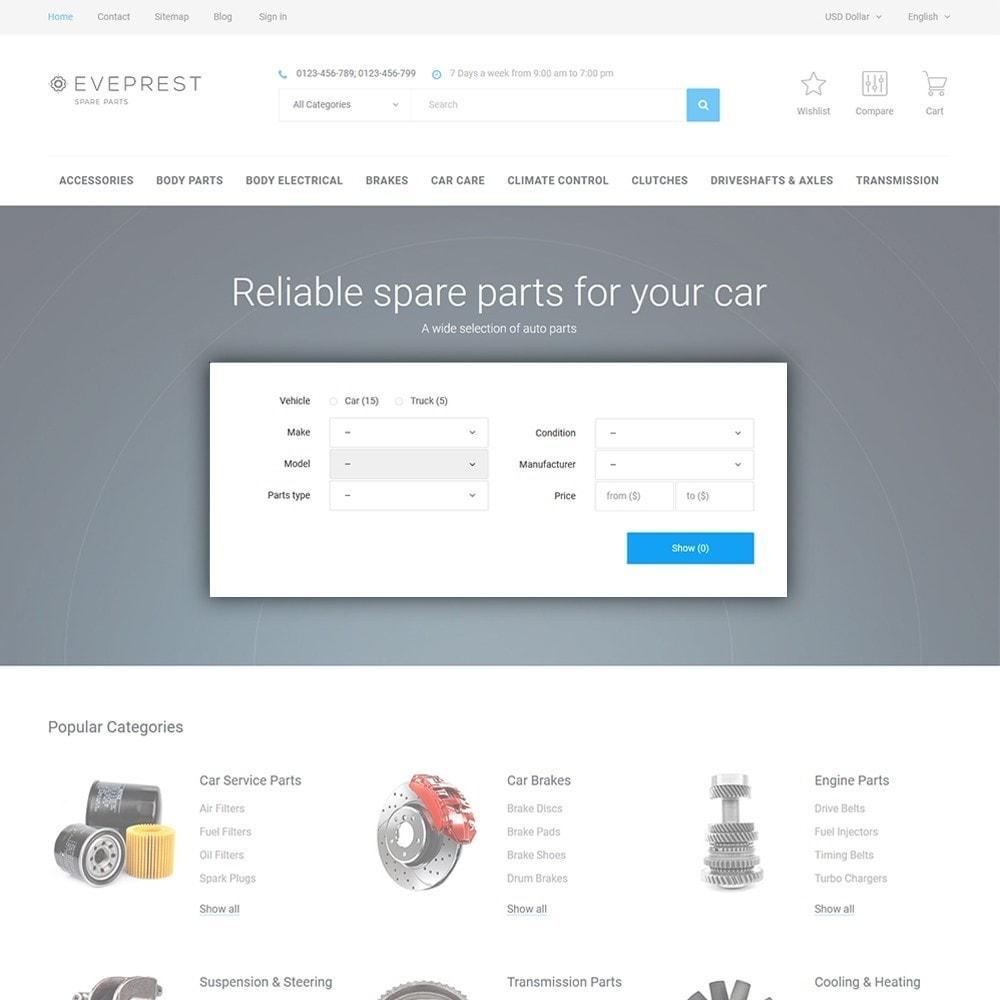 theme - Coches y Motos - Eveprest - Spare Parts - 4