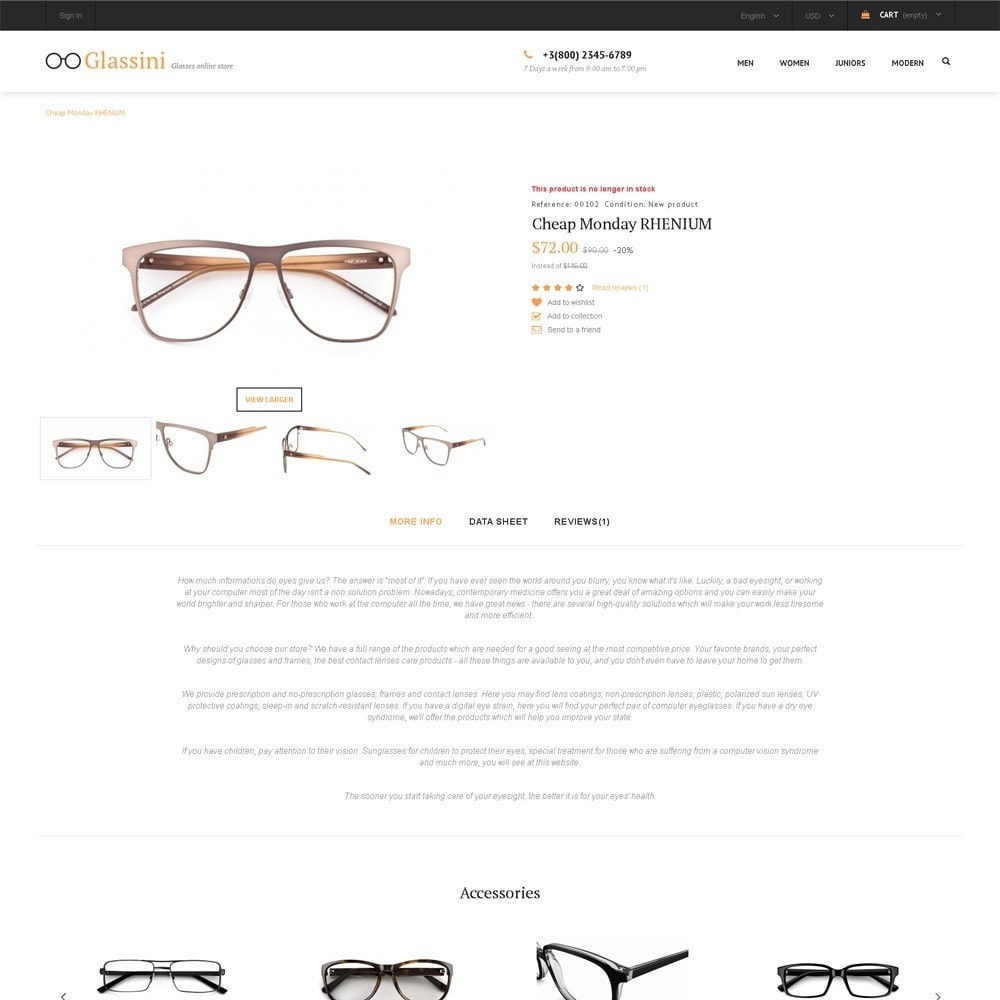theme - Мода и обувь - Glassini - магазин очков - 4