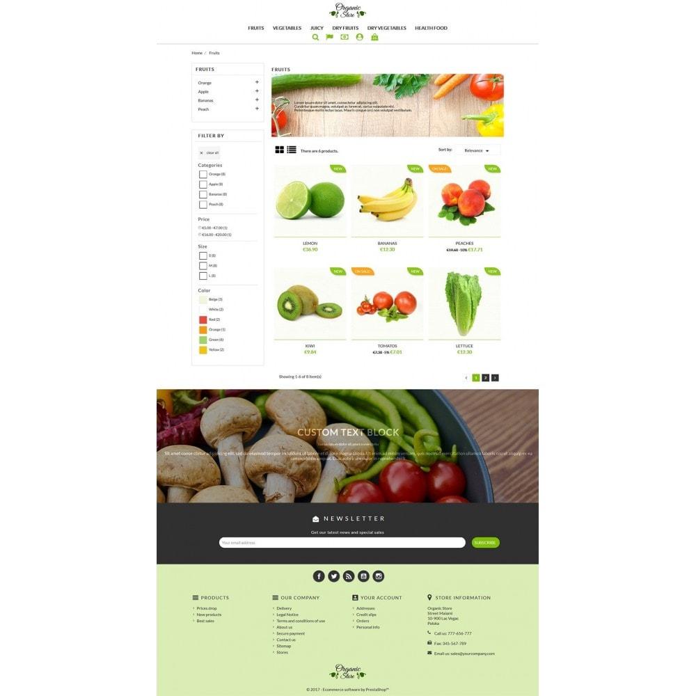 theme - Żywność & Restauracje - Organic Store - 5