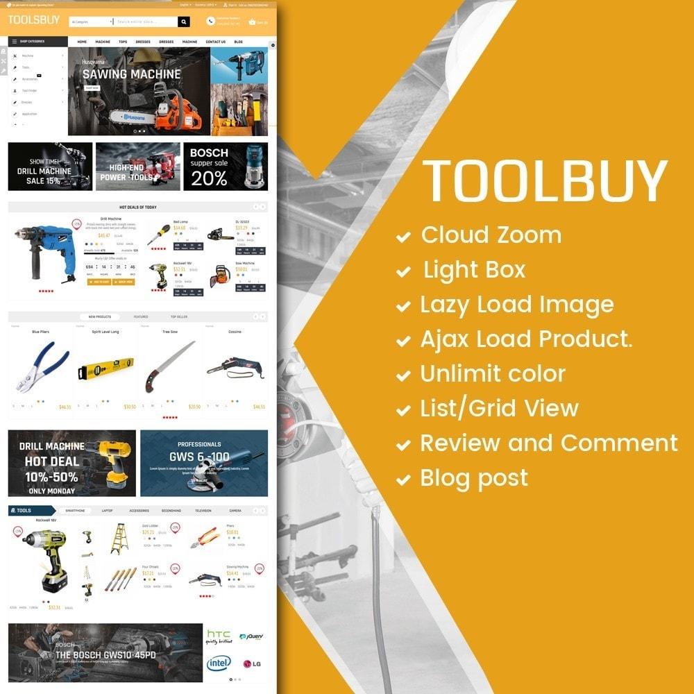 theme - Casa & Jardins - ToolsBuy Home Market - 1