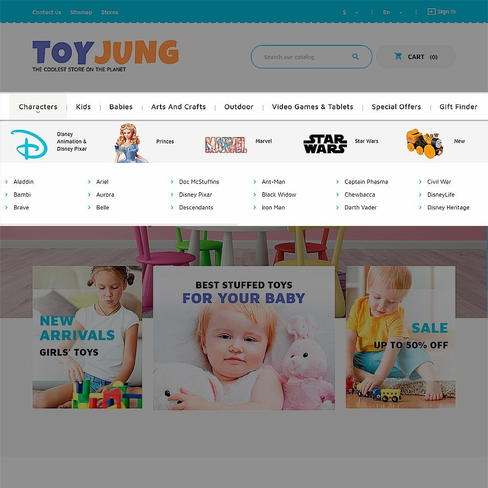 theme - Kinderen & Speelgoed - ToyJung - Toy Store Responsive - 6