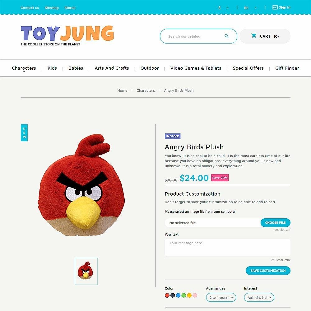 ToyJung - para Sitio de Tienda de Juguetes