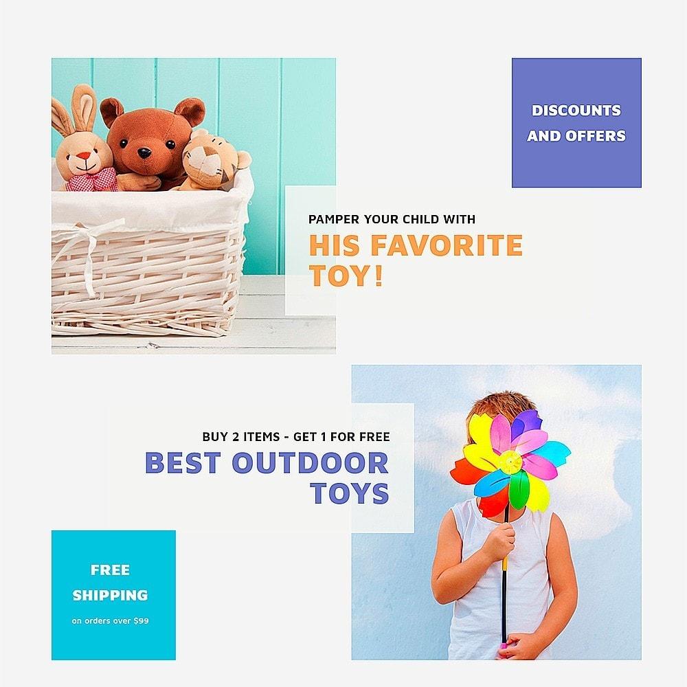 theme - Дети и Игрушки - ToyJung - шаблон детских игрушек - 7
