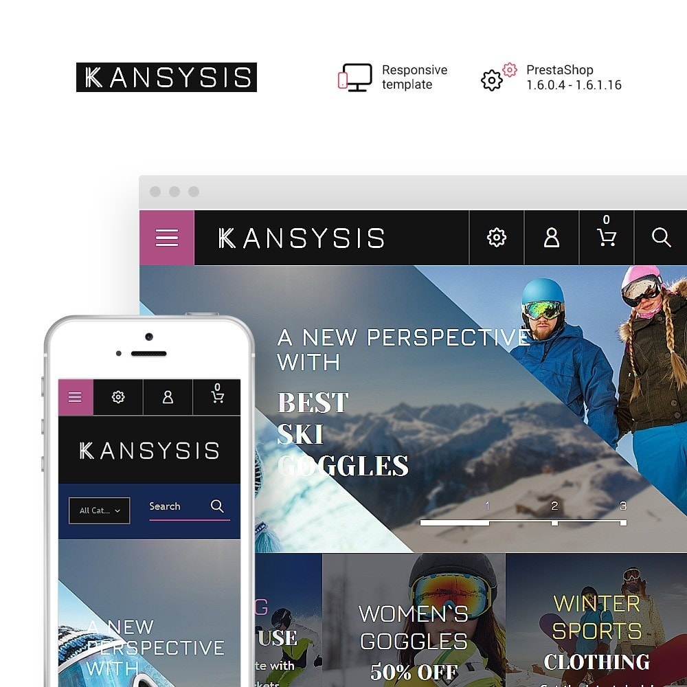 theme - Sports, Activities & Travel - Kansysis - Sport Clothing & Equipment - 1