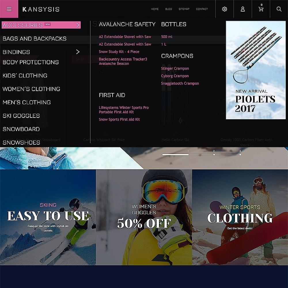 theme - Sport, Loisirs & Voyage - Kansysis - Vêtements et équipement sporti - 4