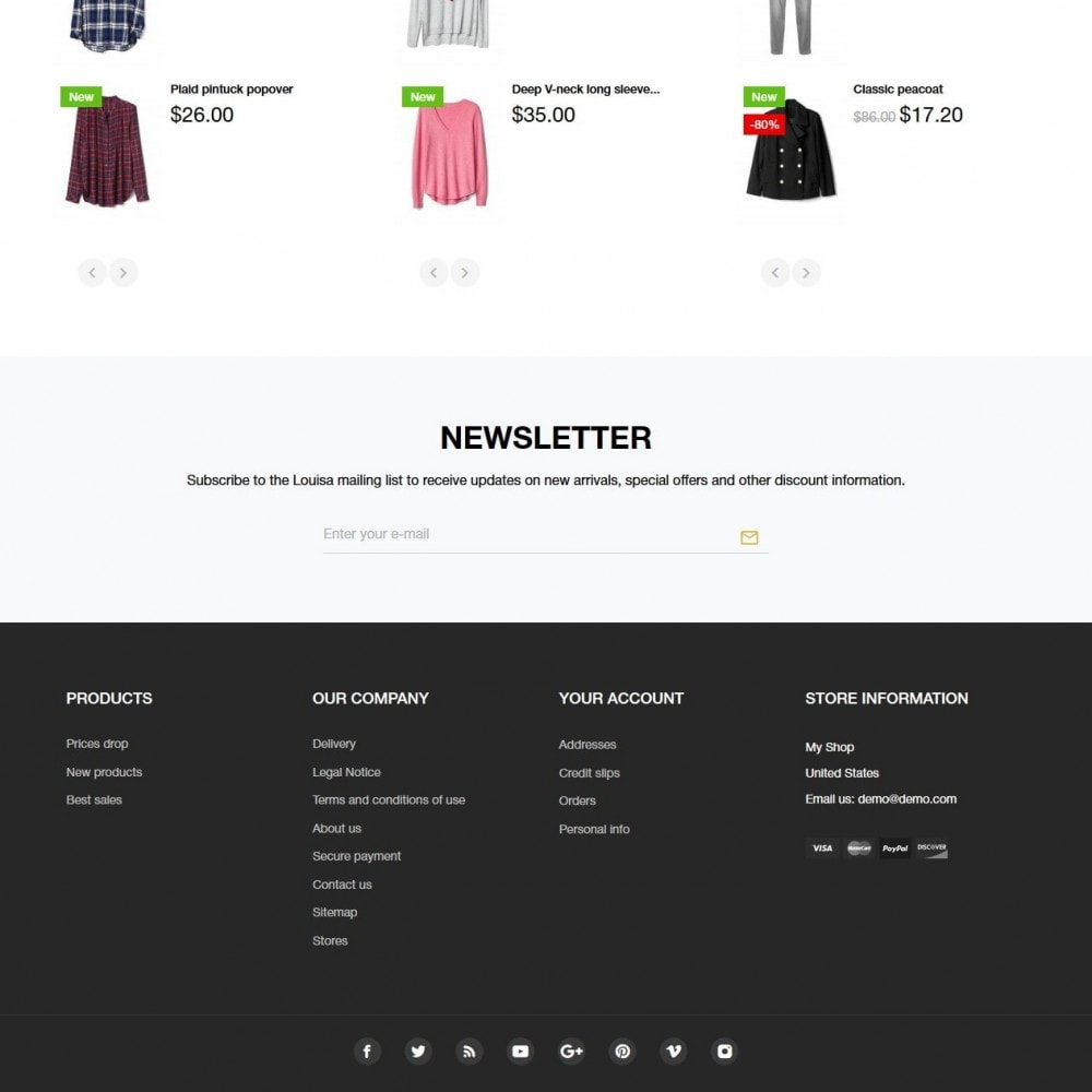 theme - Moda & Obuwie - Louiza Fashion Store - 4