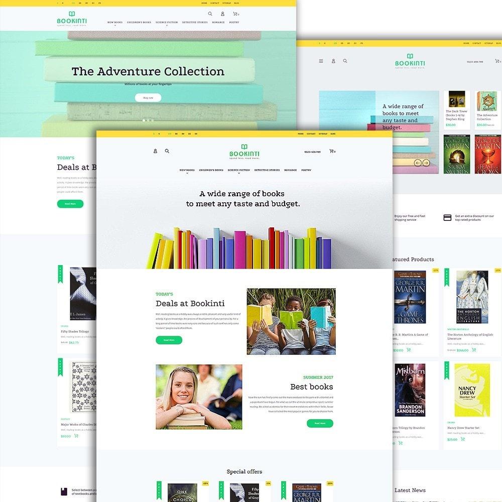 Bookinti - Book Store