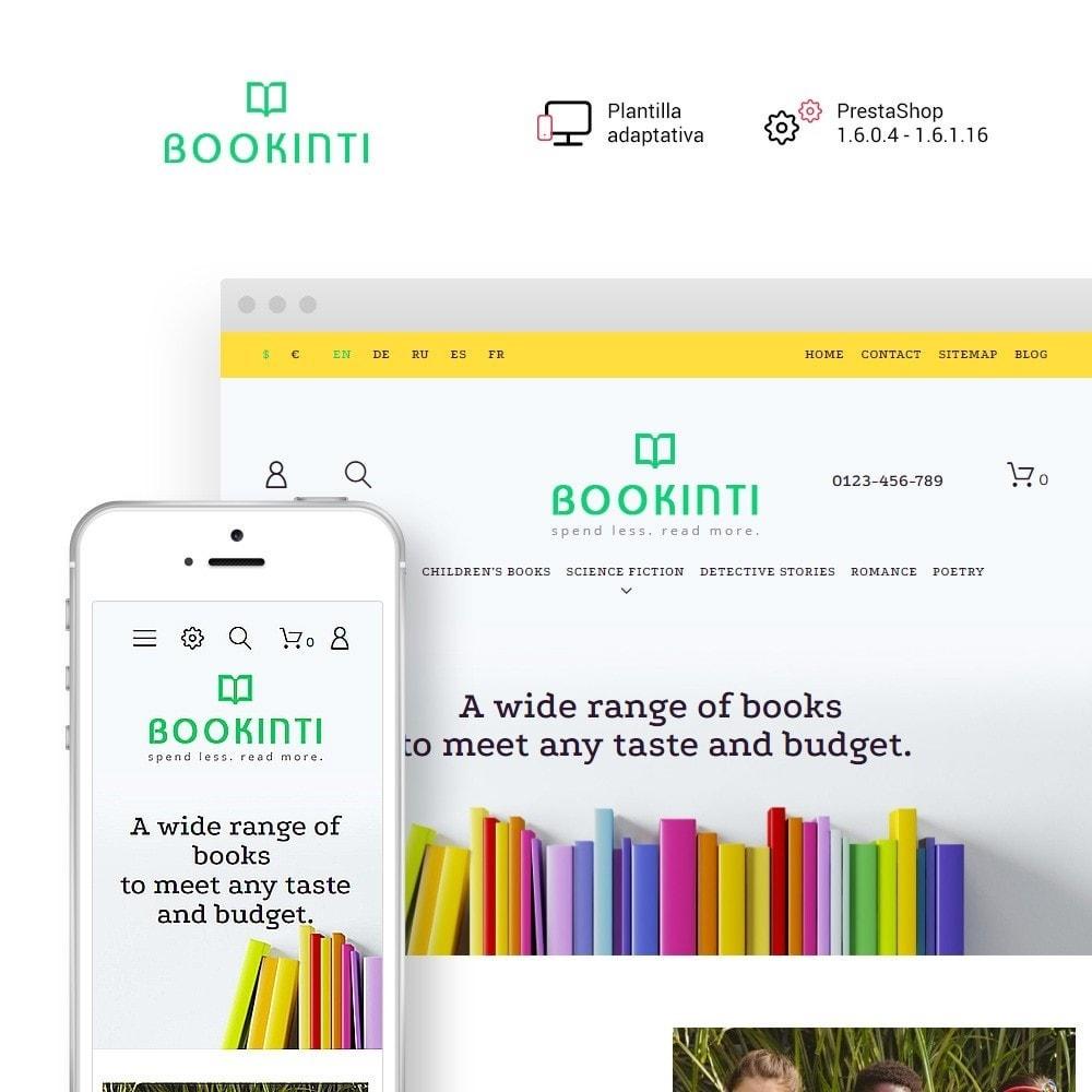 theme - Arte y Cultura - Bookinti - Book Store - 1