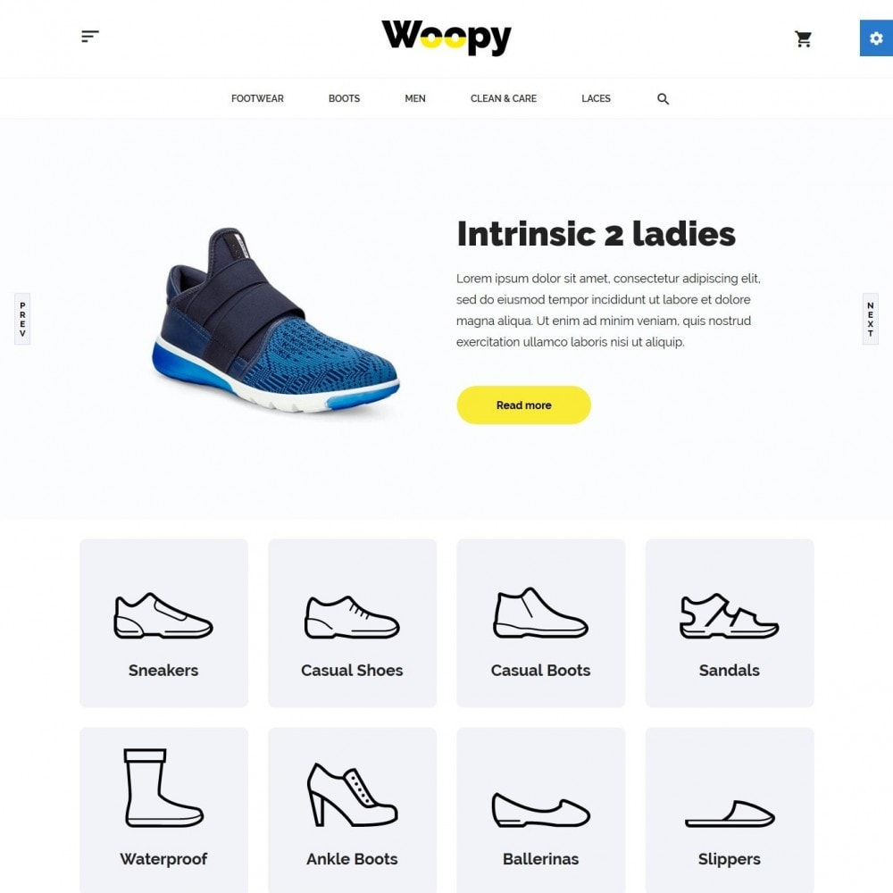 theme - Mode & Chaussures - Woopy Shop - 2