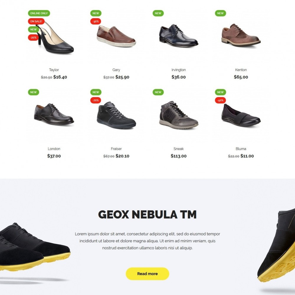 theme - Mode & Chaussures - Woopy Shop - 3