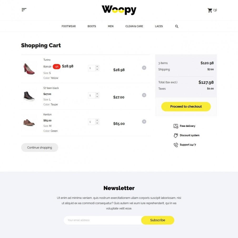 theme - Мода и обувь - Woopy Shop - 9