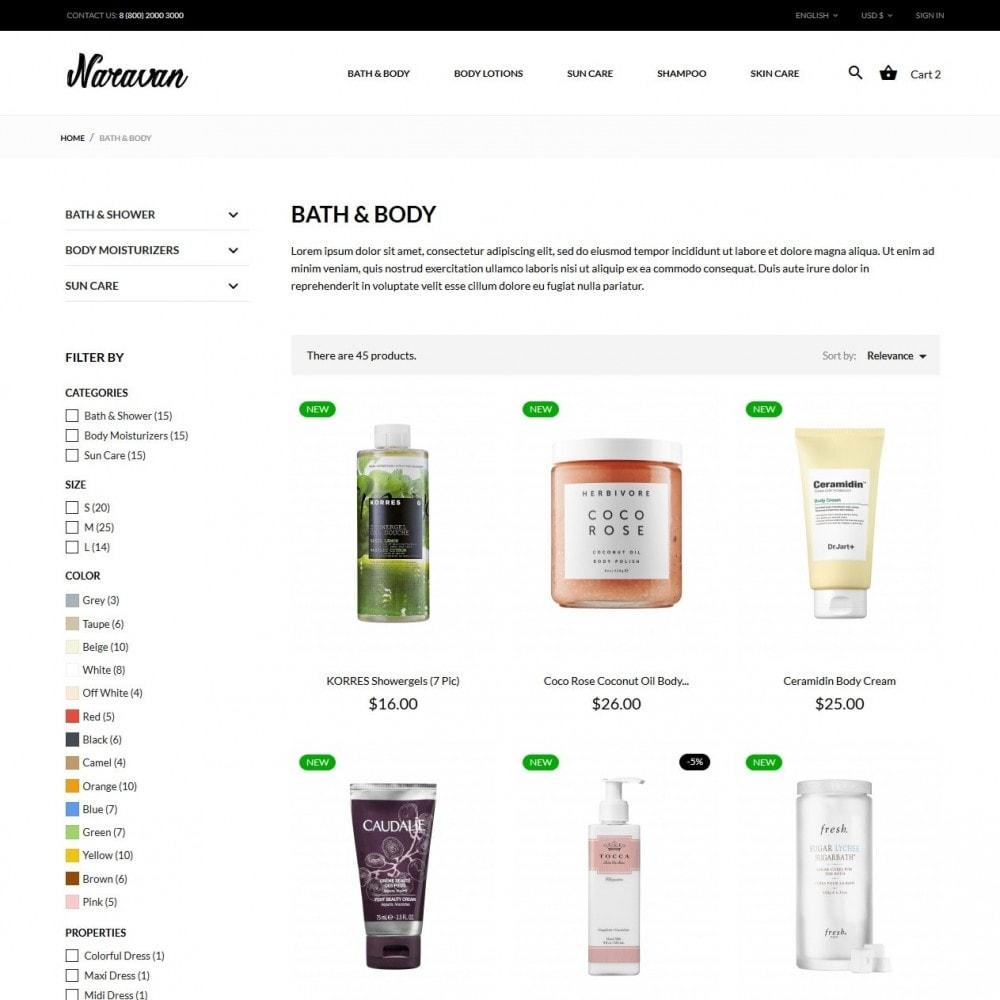 theme - Salud y Belleza - Naravan Cosmetics - 5