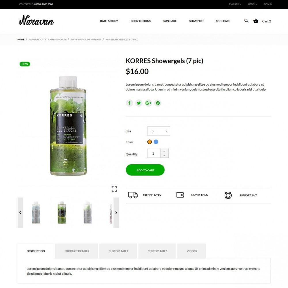 theme - Gesundheit & Schönheit - Naravan Cosmetics - 6