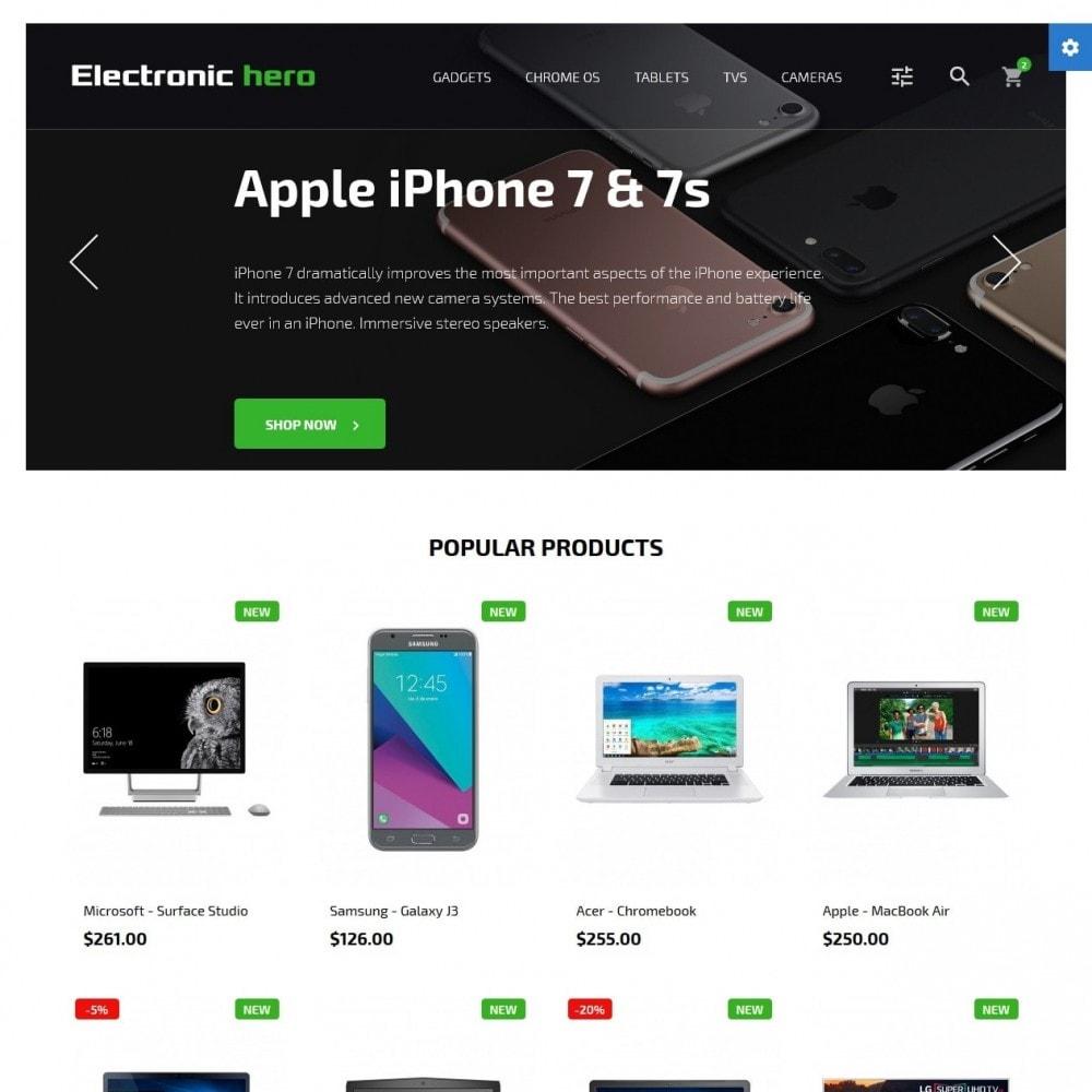 Electronic Hero - High-tech Shop