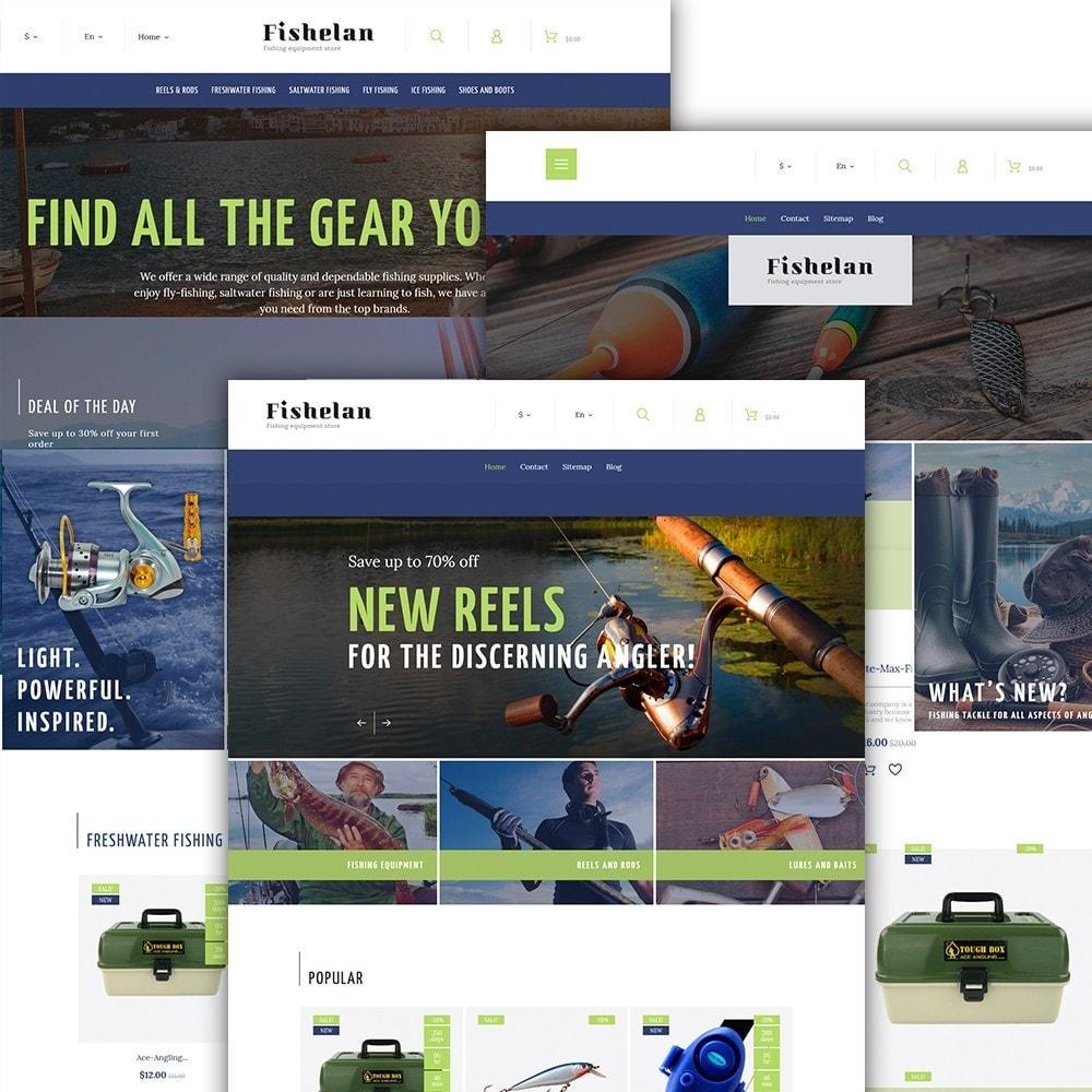 Fishelan - Fishing Equipment