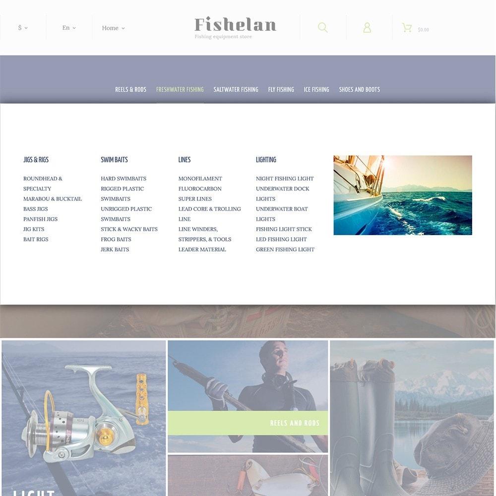 theme - Спорт и Путешествия - Fishelan - Fishing Equipment - 4