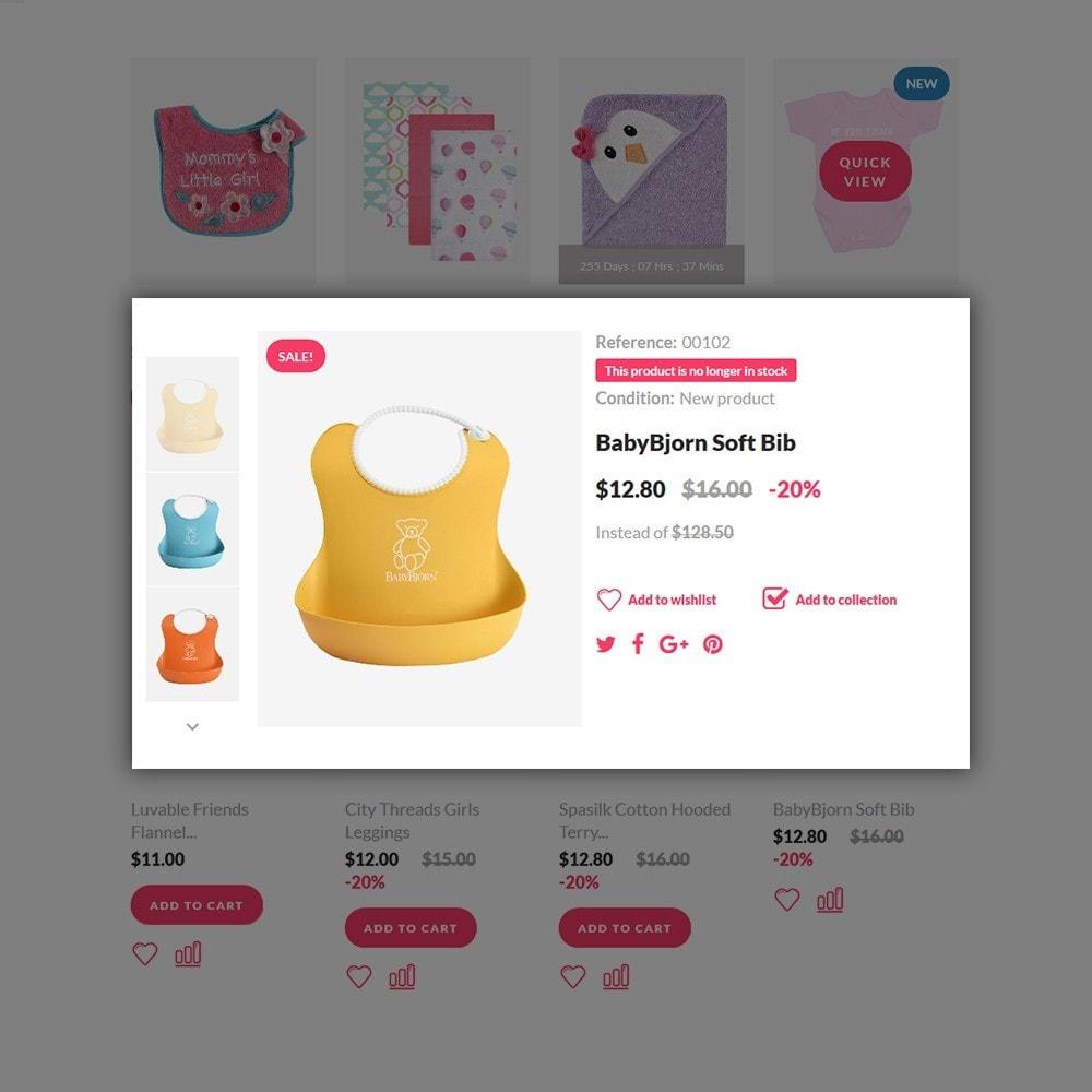 theme - Hogar y Jardín - Boy&Girl - para Sitio de Tienda de Productos para Bebés - 5