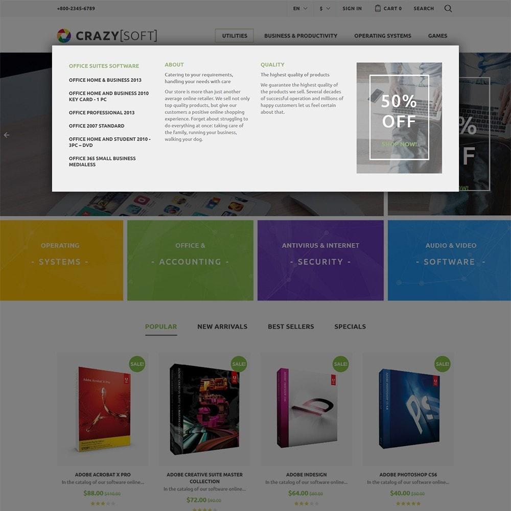 theme - Electronique & High Tech - Crazy Soft - 6