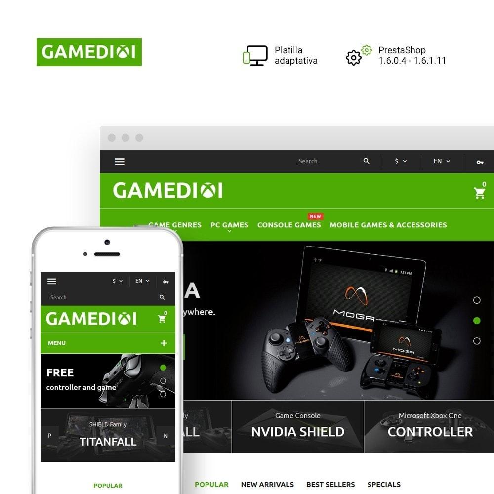 Gamedixi - para Sitio de Portal de Juegos