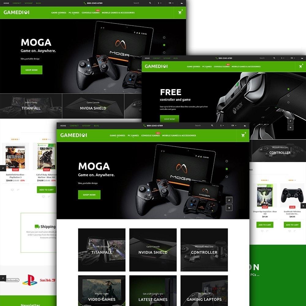 theme - Niños y Juguetes - Gamedixi - para Sitio de Portal de Juegos - 2