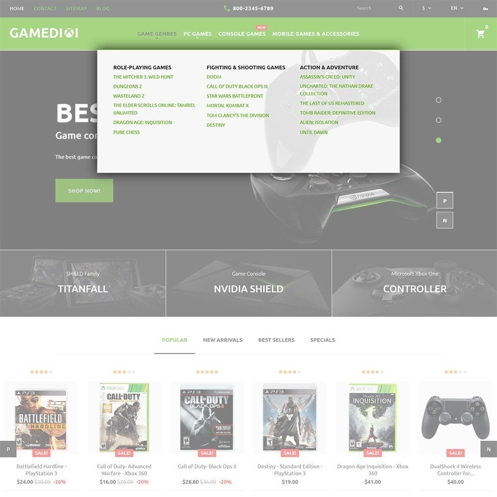 theme - Дети и Игрушки - Gamedixi - шаблон компьютерных игор - 5