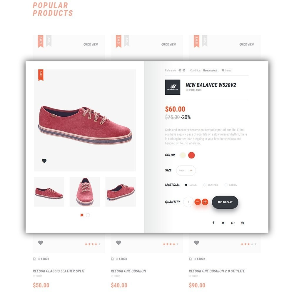 theme - Fashion & Shoes - Hamintec - Sneakers Store - 5