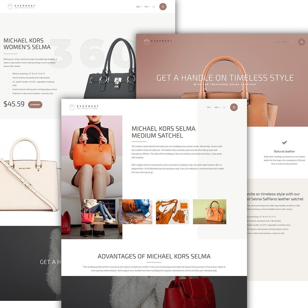 theme - Fashion & Shoes - Eveprest - One-Product Store - 2