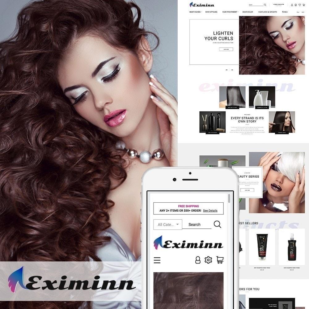 theme - Santé & Beauté - Eximinn - pour salon de coiffure - 2