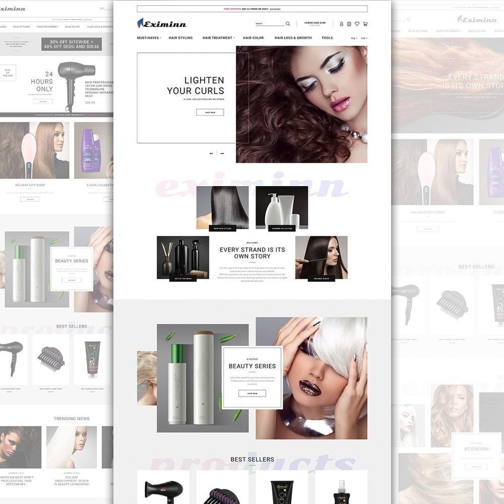 theme - Здоровье и красота - Eximinn - шаблон на тему парикмахерская - 3