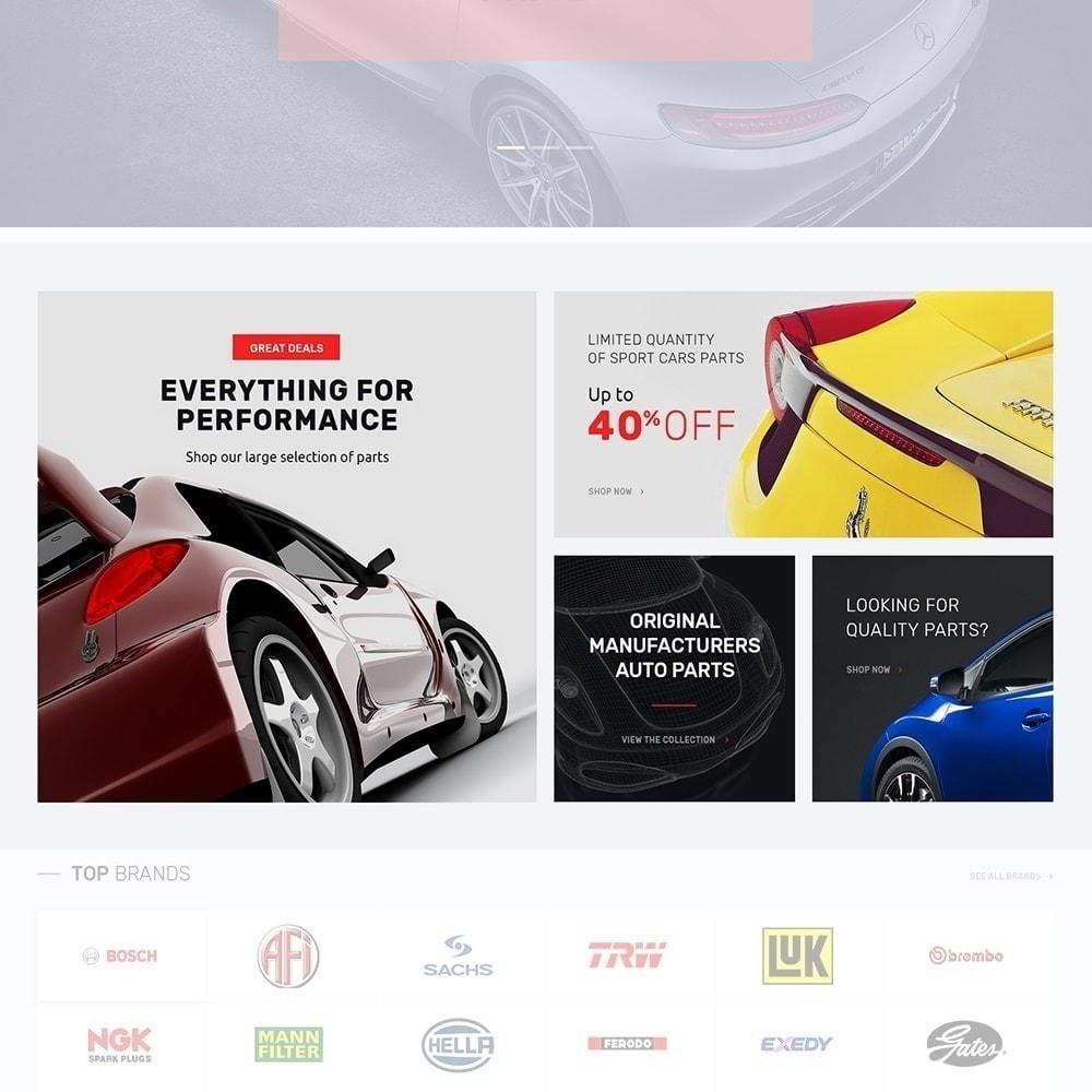 theme - Auto & Moto - Autotune - pour site de pièces automobiles - 4